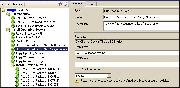 ConfigMgr: Logging the Time Taken to Run a Task Sequence Using